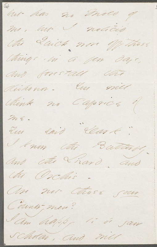 Your Scholar (Emily Dickinson), Amherst, Mass., autograph letter signed to Thomas Wentworth Higginson, July 1862
