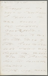 Emily Dickinson, Amherst, Mass., autograph letter signed to Thomas Wentworth Higginson, 27 September 1870