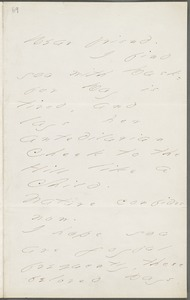 Your Scholar (Emily Dickinson), Amherst, Mass., autograph letter signed to Thomas Wentworth Higginson, June 1877