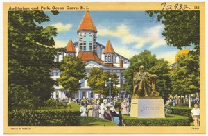 Auditorium and park, Ocean Grove, N. J.