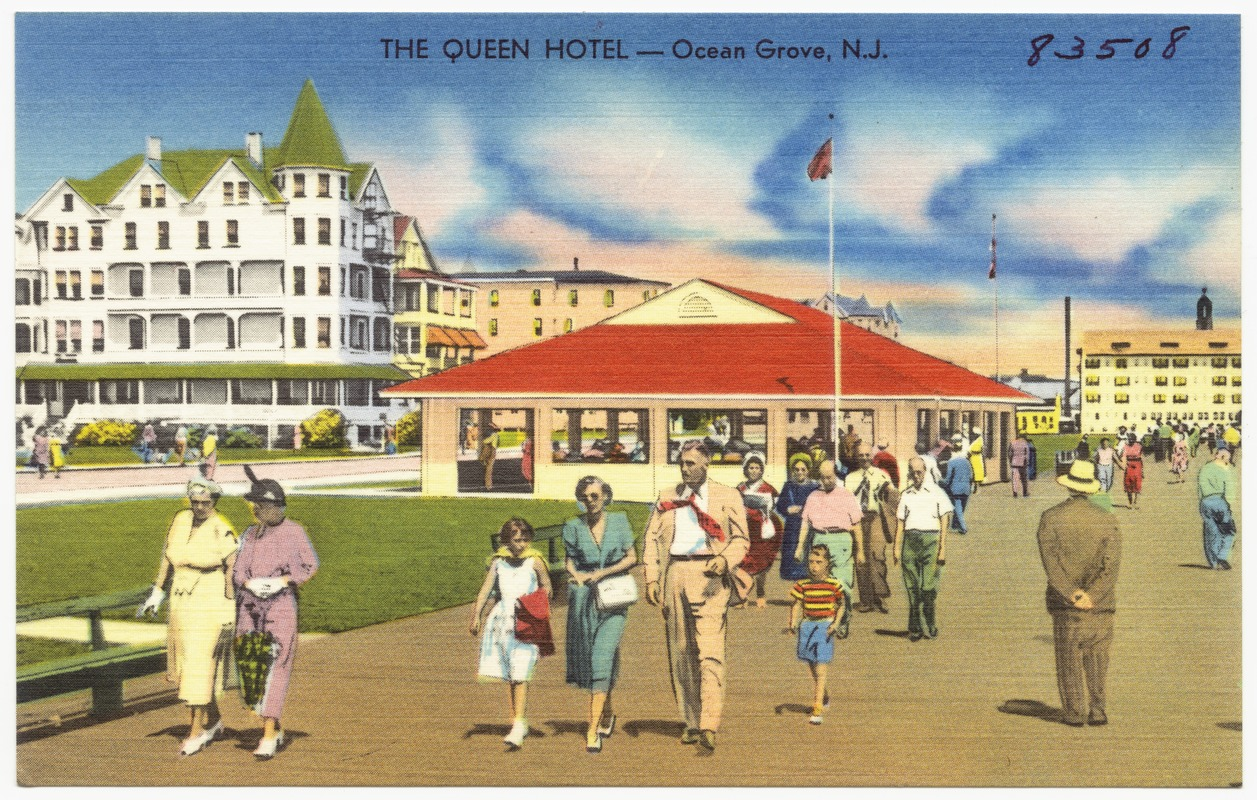 The Queen Hotel Ocean Grove N J