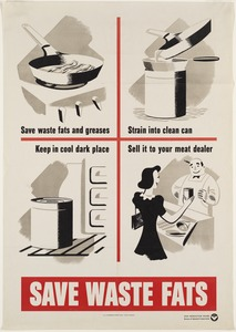 Save waste fats