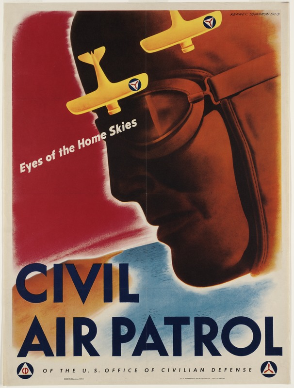 Civil Air Patrol. Eyes of the home skies.