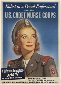 Enlist in a proud profession! Join the U.S. Cadet Nurse Corps