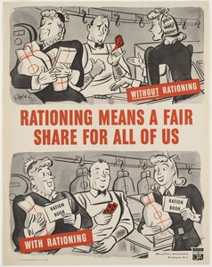 Rationing means a fair share for us all