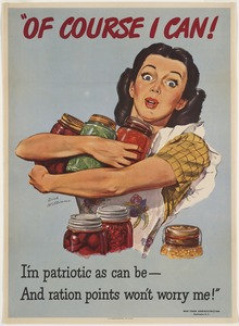 Of course I can! I'm as patriotic as can be -- and ration points won't worry me!