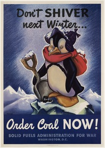 Don't shiver next winter… order coal now!