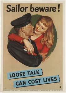 Sailor beware! Loose talk can cost lives