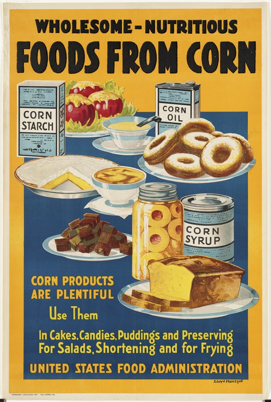 Wholesome -- nutritious.  Foods from corn