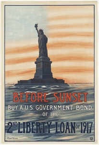 Before sunset. Buy a U.S. government bond of the 2nd Liberty Loan of 1917