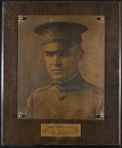 Lieut. Robert E. Ball, died 1918