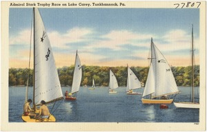 Admiral Stark Trophy Race on Lake Carey, Tunkhannock, Pa.