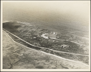 Aerial view of Radio Direction Finder Station