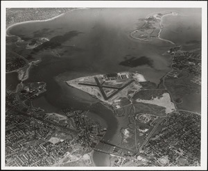 N.A.S.  Squantum, MA from South 10000 ft.