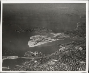 N.A.S.  Squantum, MA from West 5000 ft.