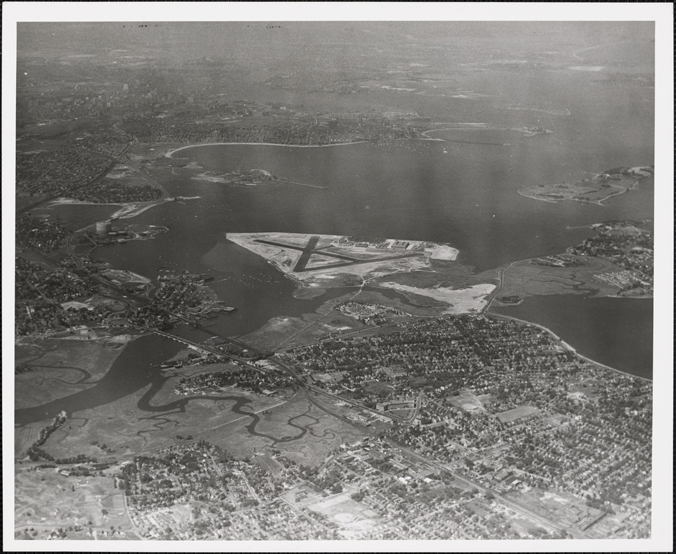 N.A.S.  Squantum, MA from South 5000 ft.