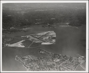 N.A.S.  Squantum, MA from East 5000 ft.