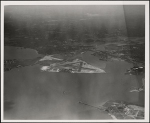 N.A.S.  Squantum, MA from North 5000 ft.