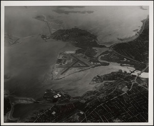 N.A.S. Squantum, MA from West-10000 feet