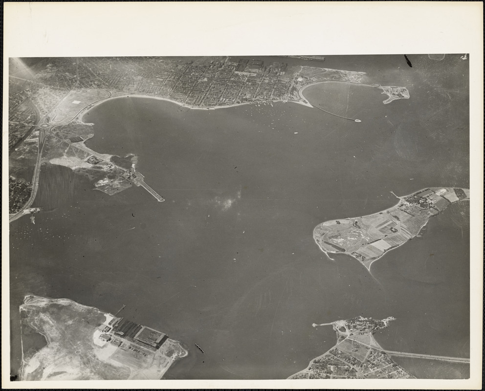 Aerial view of Naval Air Station