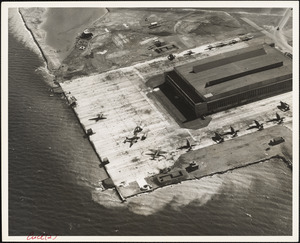 NAS Squantum at high tide