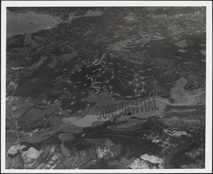 Naval Ammunition Depot, Hingham, MA from west 10,000 ft.