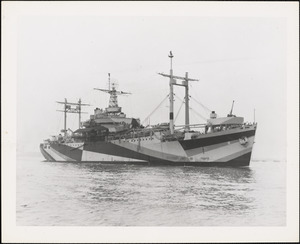 AGC-8 Communication Ship-USS MT. OLYMPUS Built by NYBos from hull built by North Carolina ship building Co. Completed 6/1944