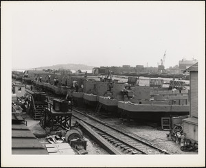 LCM(3) Tank Lighter 50 ft. built by NYBos at US Naval Drydock completed 8/1942