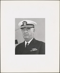 Captain Ronan C. Grady, USN, Captain of Boston Navy Yard
