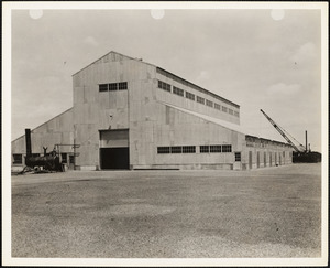 Building #17 US Naval Dry Dock, South Boston, Completed 2/1942