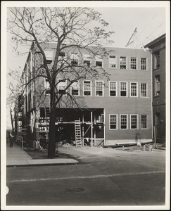 Extension of Building #39 - completed in July, 1943