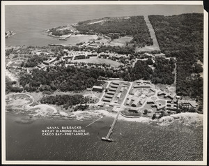Naval Barracks, Great Diamond Island, Casco Bay, Portland, ME