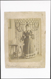 Jennie K. (Baker) Gawley, wife of Thomas Gawley, daughter of Obadiah Baker