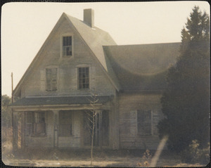 359 Route 28, home of Sophie Mabey, built circa 1870, demolished after 1979