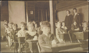 The grammar room, West Yarmouth Olde School House 1912