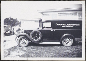 Cape Cod Laundry delivery truck, West Yarmouth, Mass.