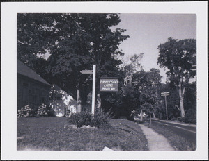 Nickerson Lane, Old King's Highway, Yarmouth Port, Mass.