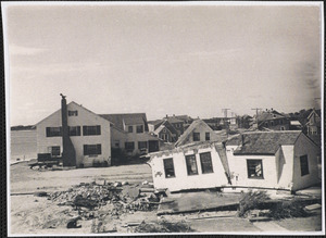 1944 Hurricane damage on Lewis Bay, Mass.