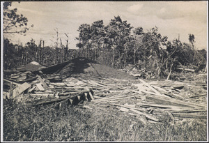 1944 Hurricane damage in West Yarmouth, Mass.
