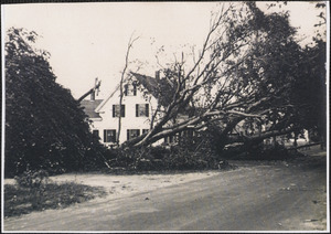 1944 Hurricane damage in South Yarmouth, Mass.