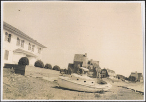 Damage after the 1944 hurricane