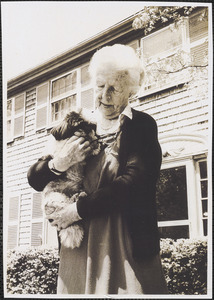 Ann Maxtone-Graham with dog