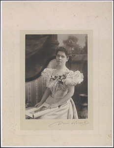 Mary Burr Thacher, daughter of Henry C. Thacher