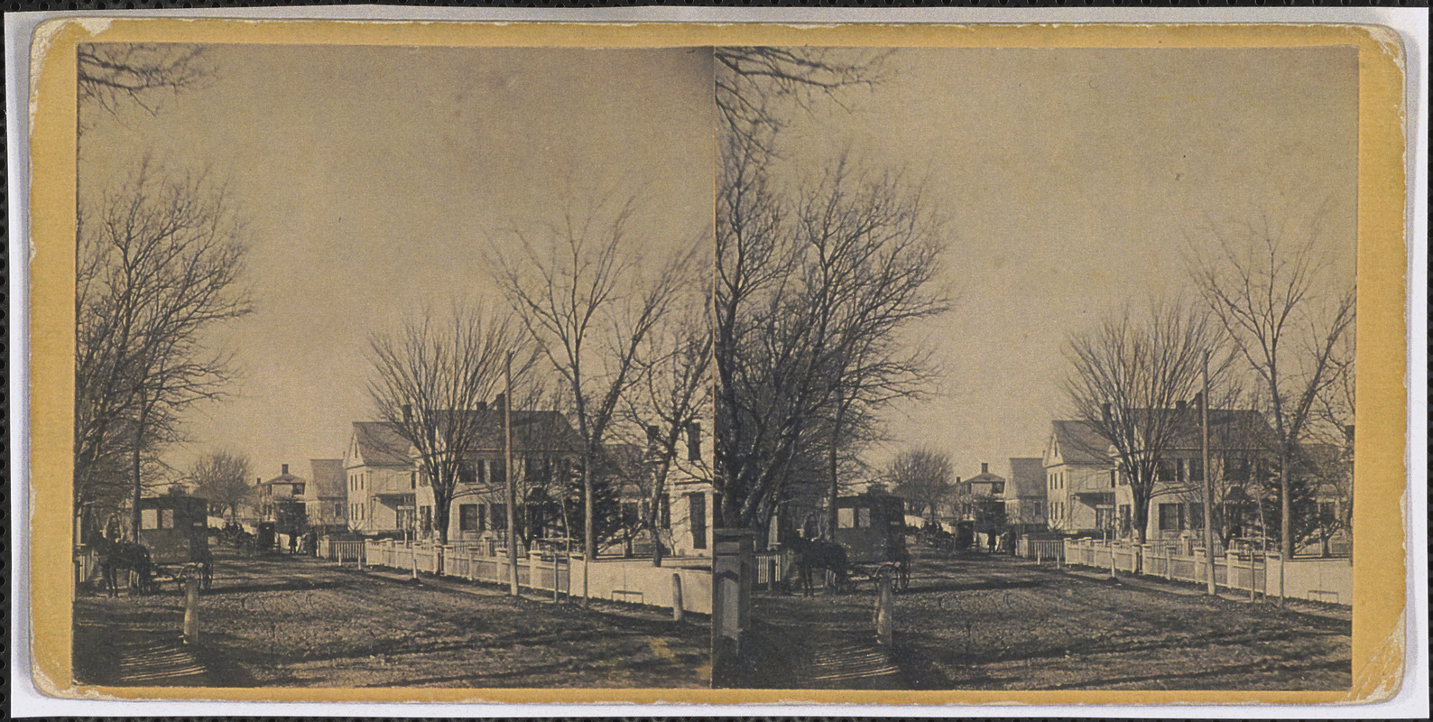 1 Center Street, Yarmouth Port, Mass. looking west