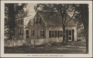 Anchorage Guest House, Summer St., Yarmouth Port, Mass.