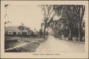 Old King's Highway, Yarmouth Port, Mass.