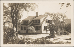 165 Old King's Highway, Yarmouth Port, Mass.