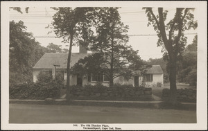 162 Old King's Highway, Yarmouth Port, Mass.