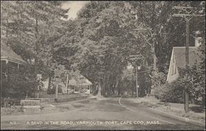 210 Old King's Highway on right, looking east, Yarmouth Port, Mass.