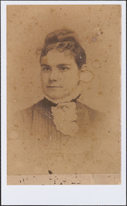 Annie Gorham Pulsifer, daughter of the cobbler Benjamin T. Gorham